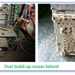 dust-buildup